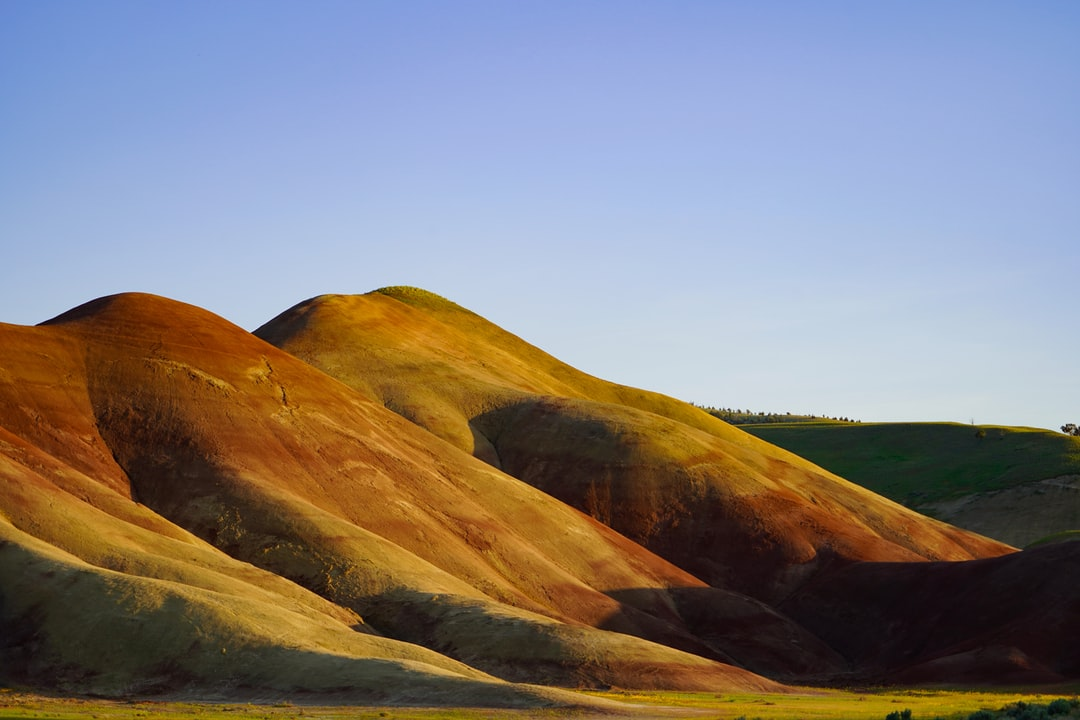 Part of my Painted Hills series. I'm trying to upload photos from different places and perspectives at the national monument. It's truly incredible at sunset--you feel like you're on an alien planet. The warm colors of the hills seem to glow as the sun sets. This is the main attraction but looking back to the south. Nature--am I right?!