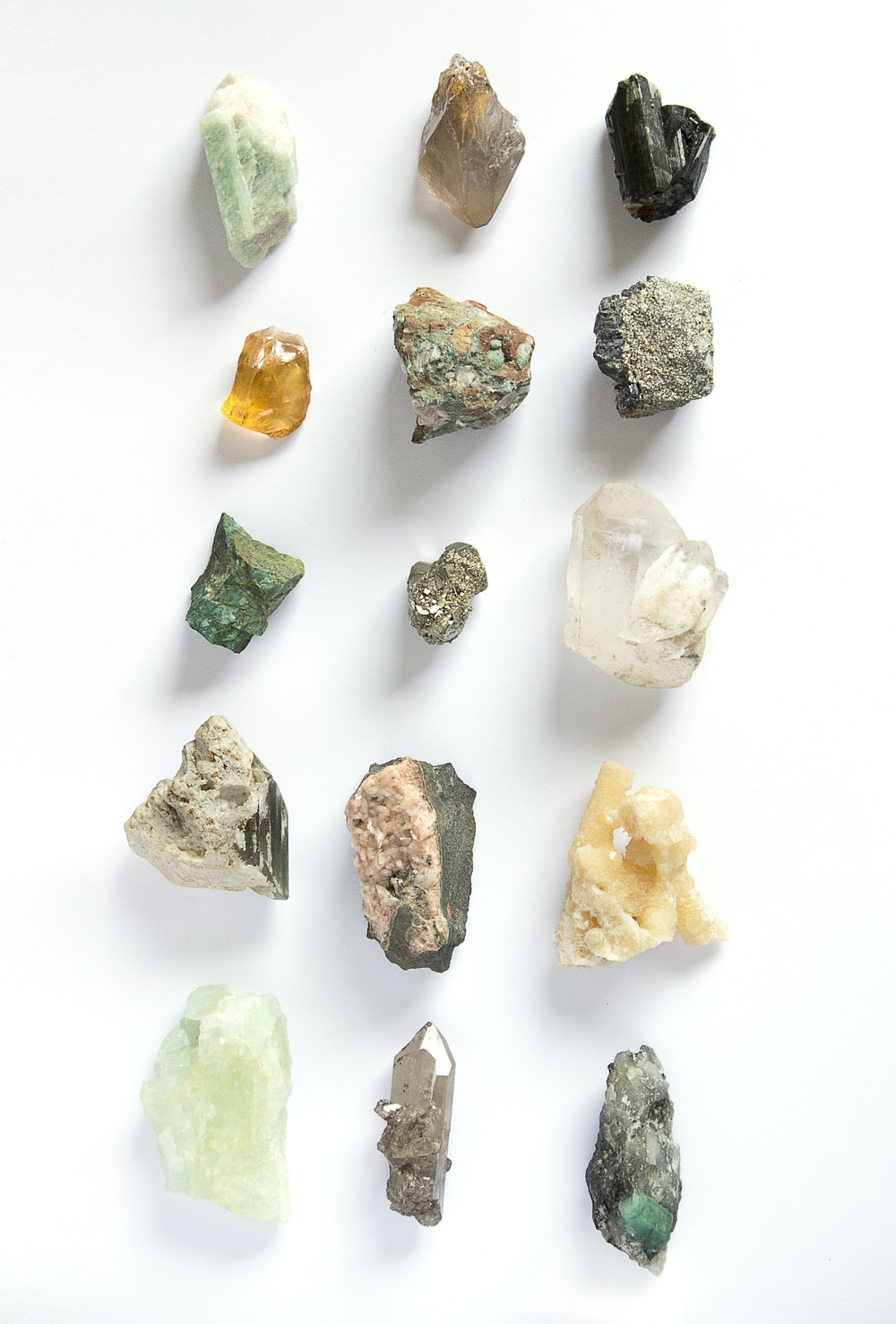 assorted-color stone lot