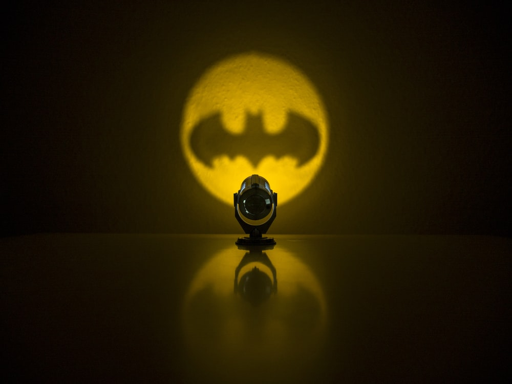 Batman on shadow