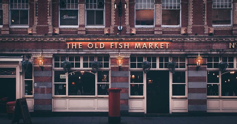 The Old Fish Market structure