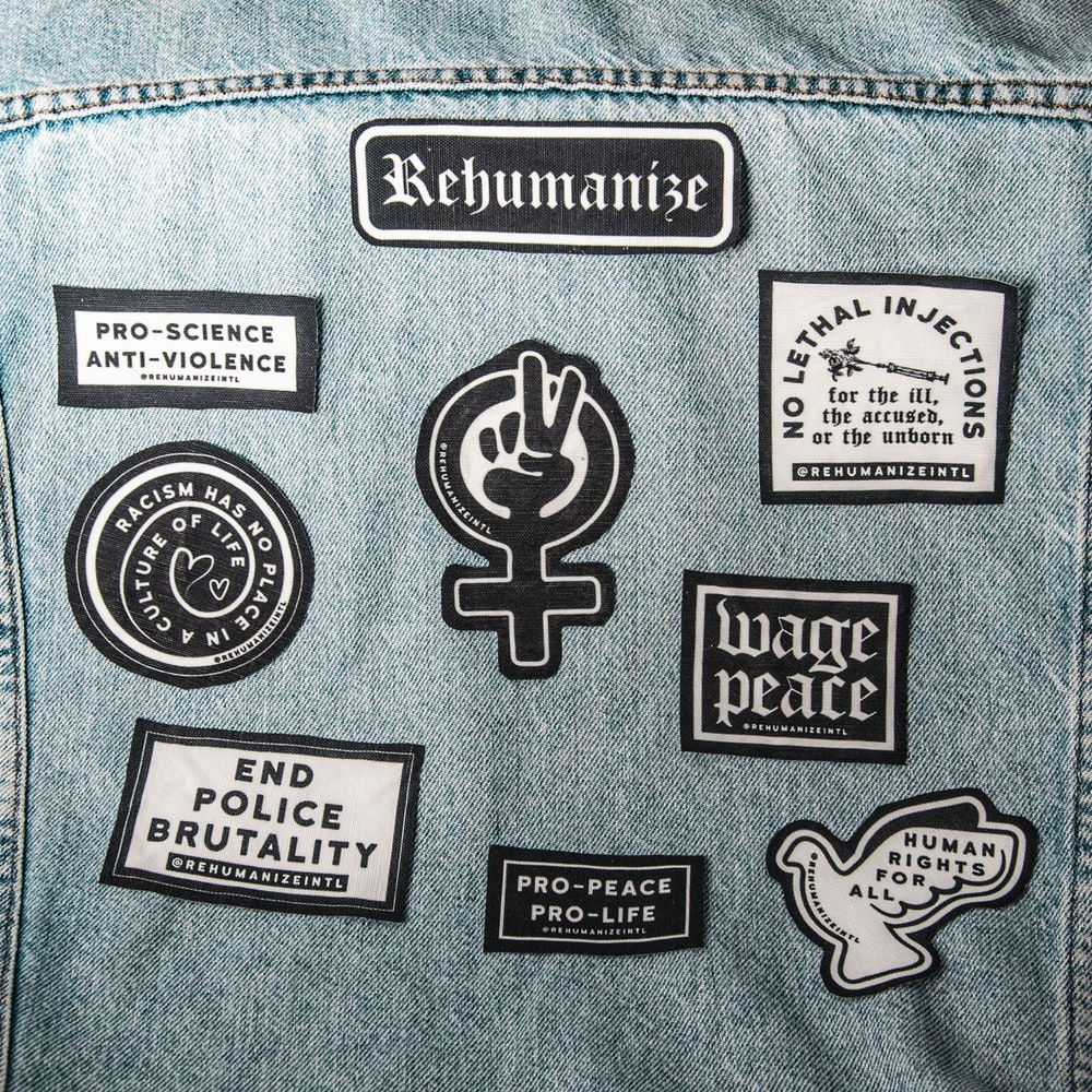 assorted-color patch