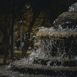 fountain outdoor during daytime