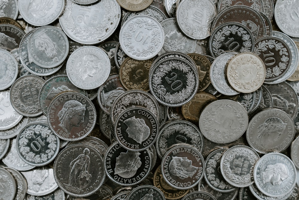 variety of coins