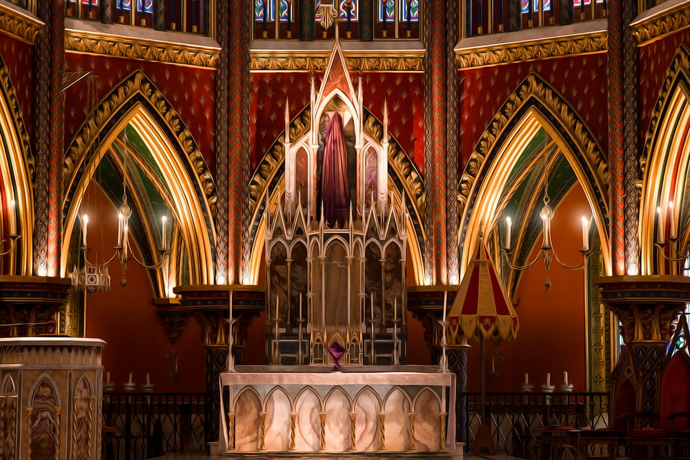 cathedral interior photography