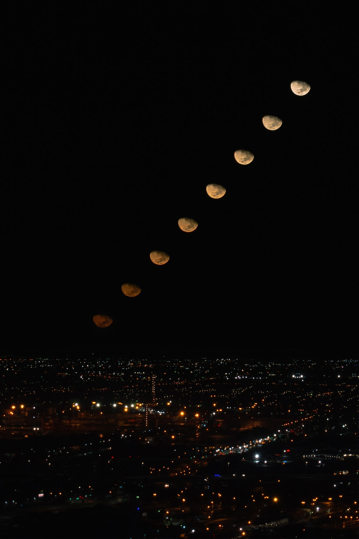lighted lanterns
