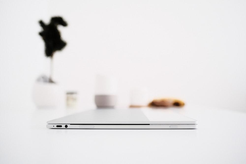 smartphone on white panel