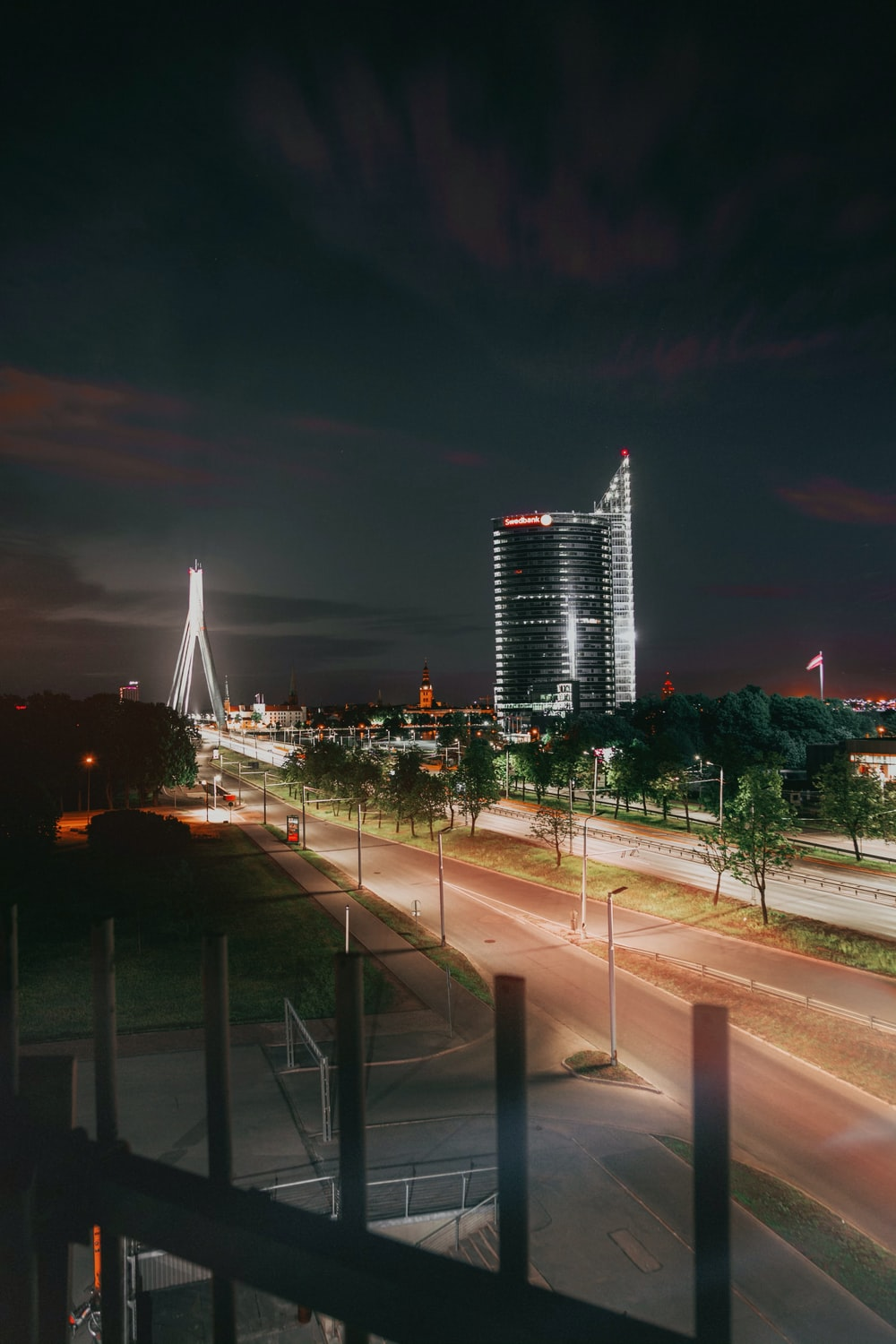 time lapse photo of city during nighttime