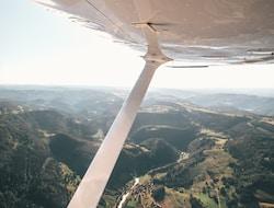Flug in den Muchison Falls Nationalpark