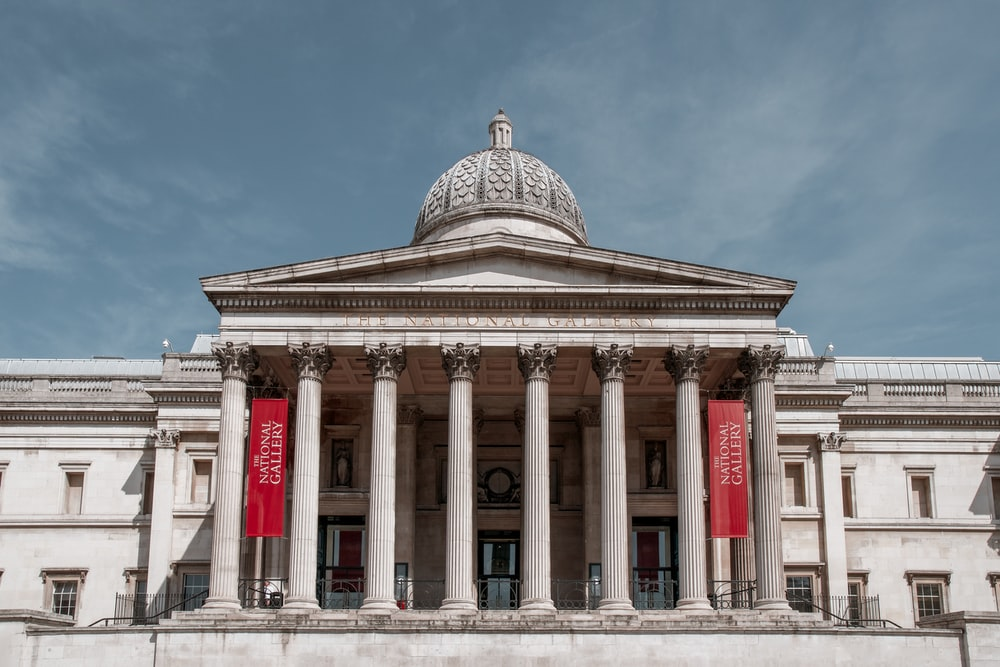 The National Gallery in London, England