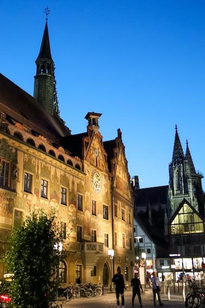 City Hall (Ulmer Rathaus) of Ulm in Germany.