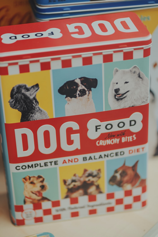 Dog Food box