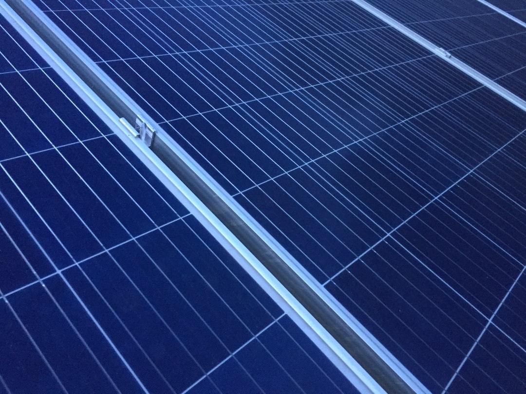 Solar Panel Pattern