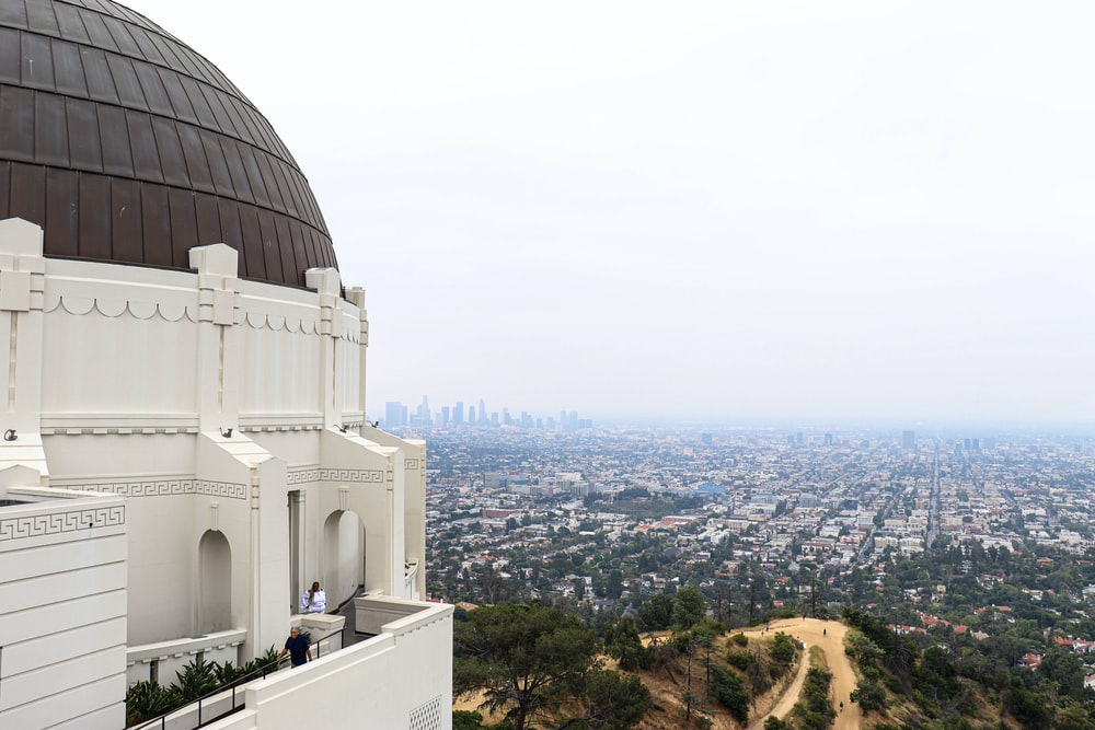 white and brown concrete dome building
