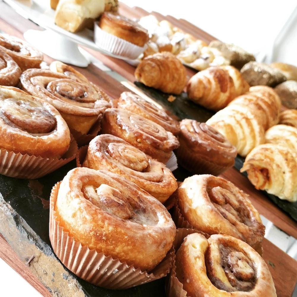 croissants and Danish bread