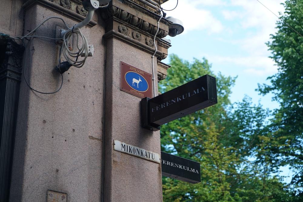 Ferrenkulma signage at the building