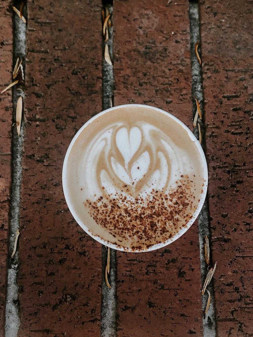 round white espresso cup