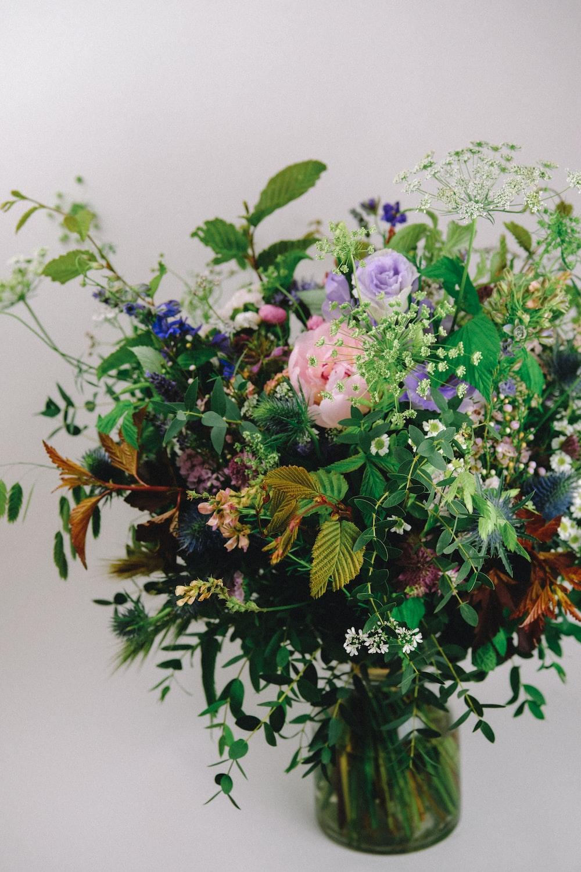 flower arrangement in vase