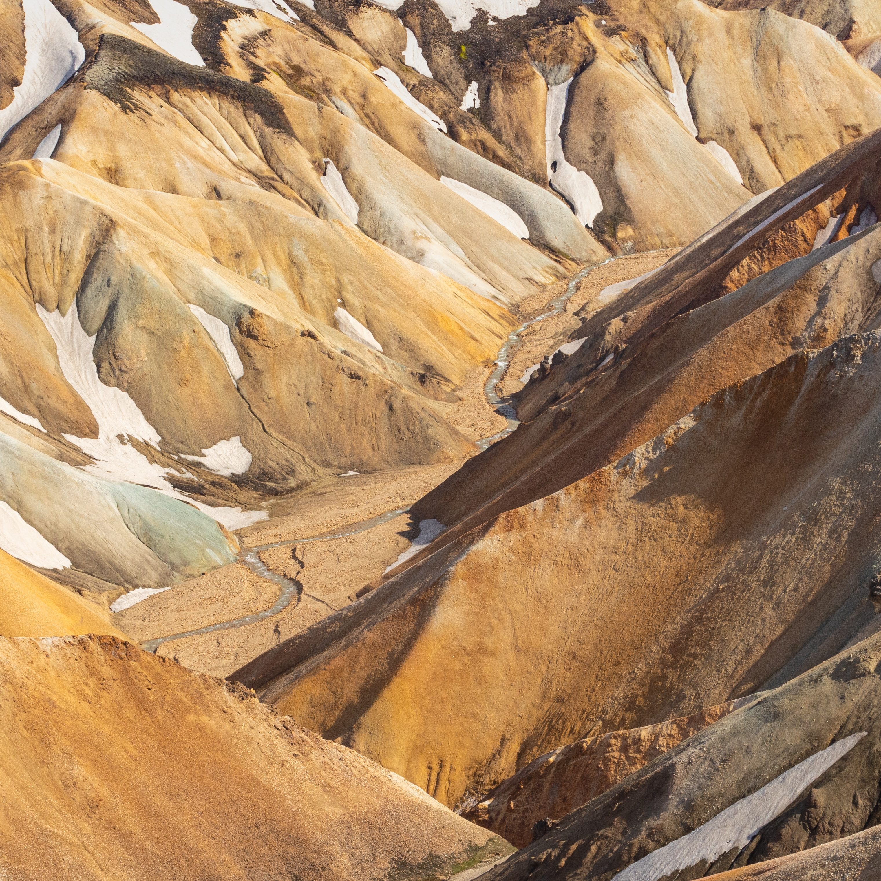 Landmannalaugar National Park. Rainbow Mountains.