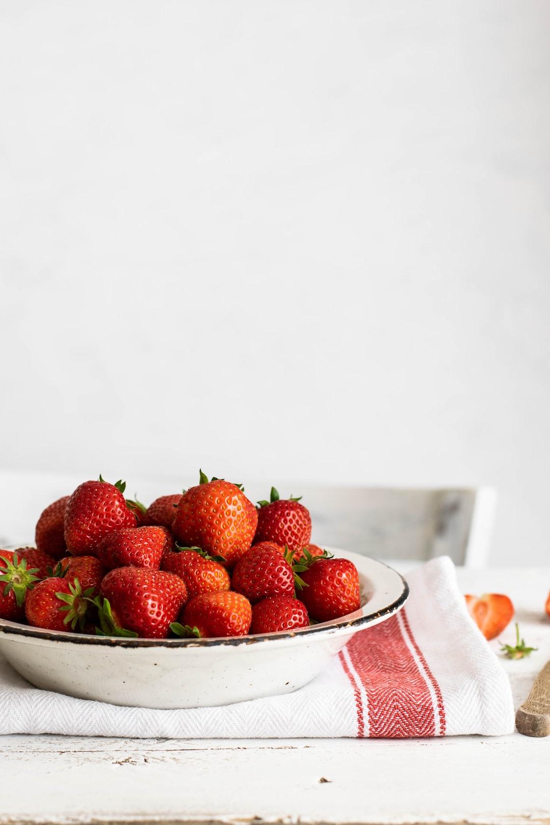 Strawberries - the best seasonal fruit