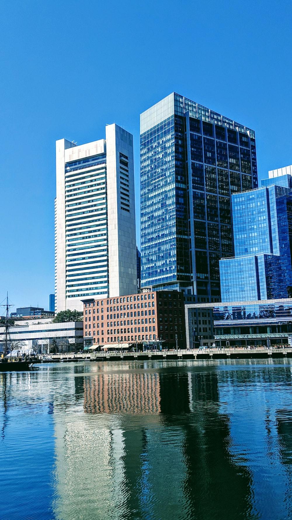 buildings across body of water