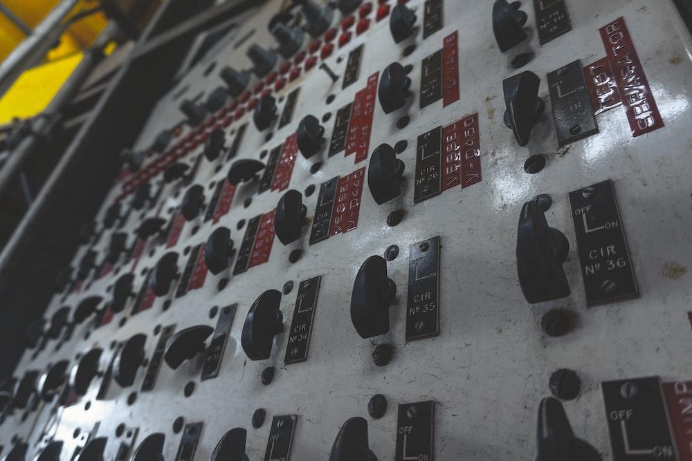 gray circuit panel