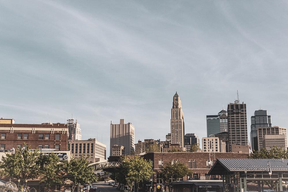 landscape photo of a city skyline