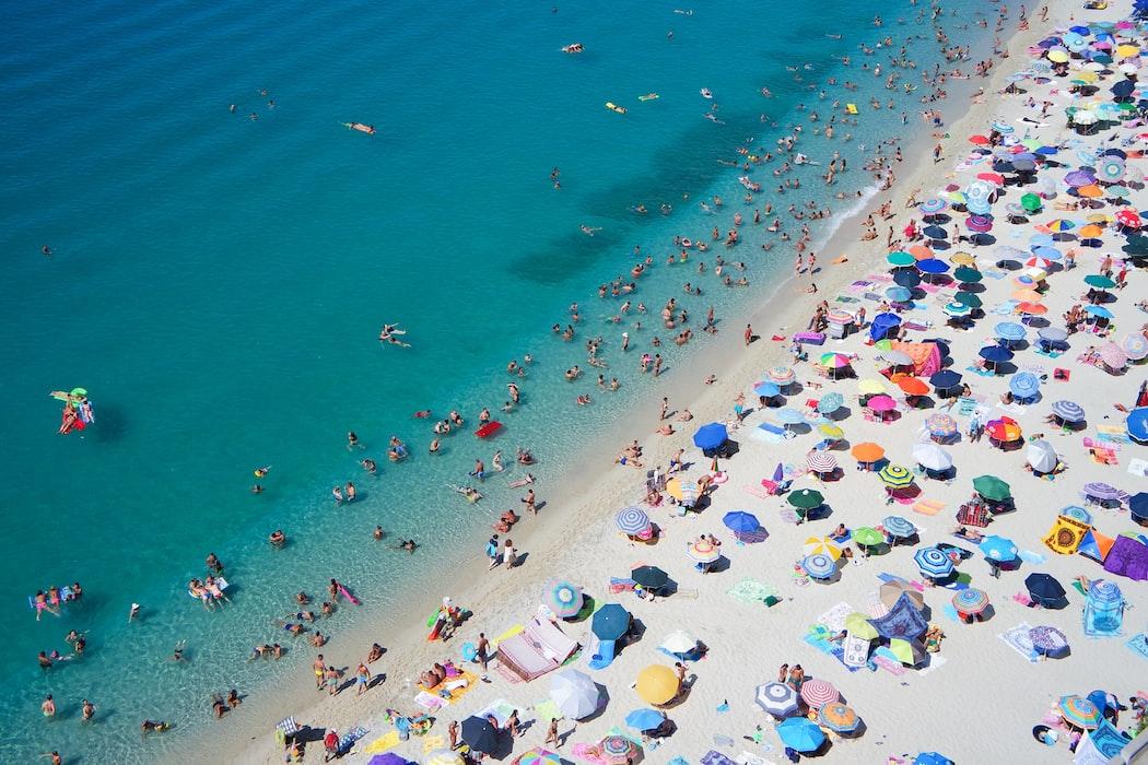 Het strand, een van de leukste activiteiten in Toscane