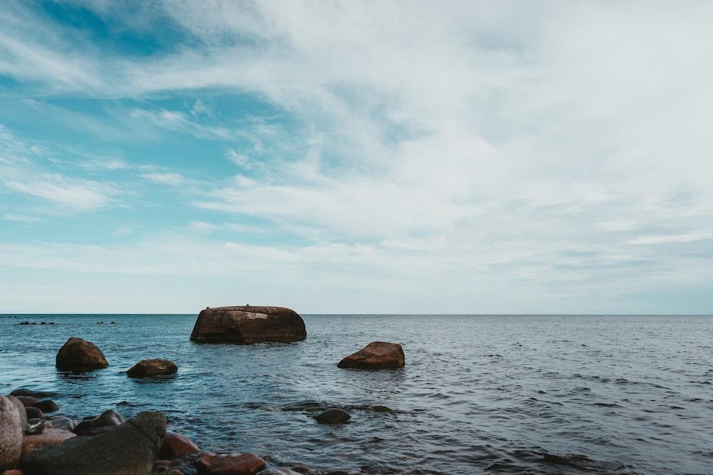 ocean rock