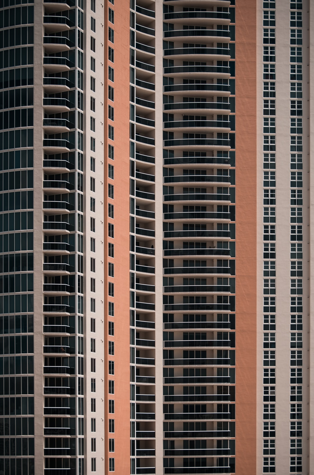 brown and black high-rise building