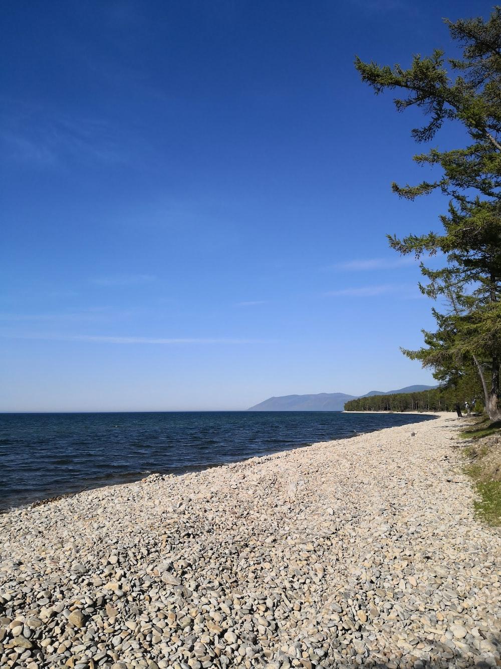 landscape photo of a beach