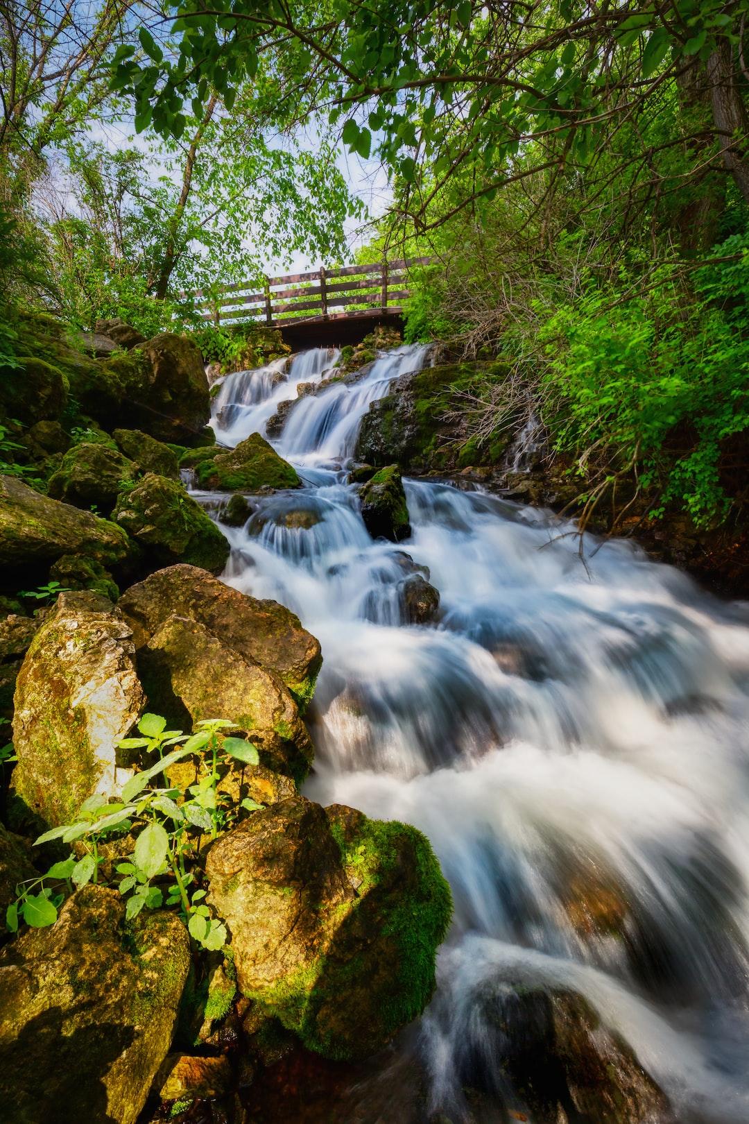 Under the Bridge | Over the Rocks  Governor Dodge State Park / Dodgeville, Wisconsin