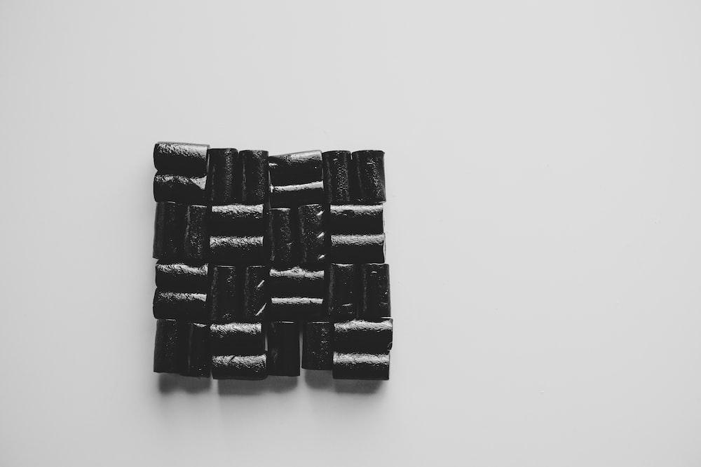 small black stones