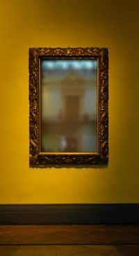 Once I looked at the mirror  and I saw nothing but a mask. poem stories