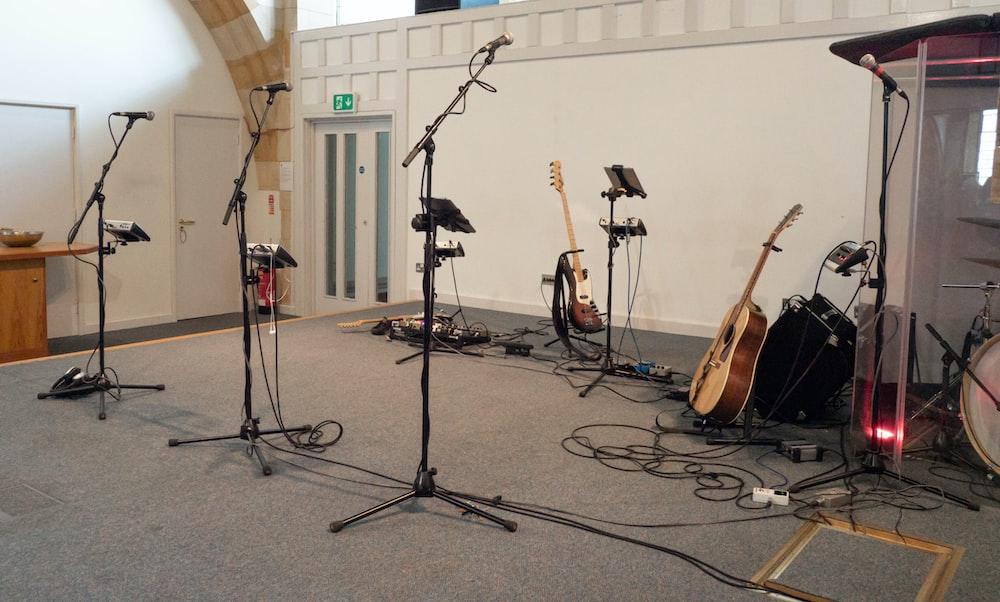 music instrument set