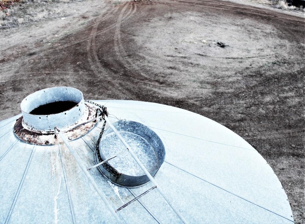 white metal tank during daytime