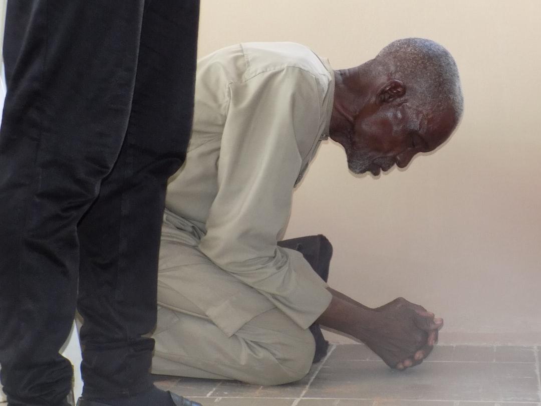 A praying pastor