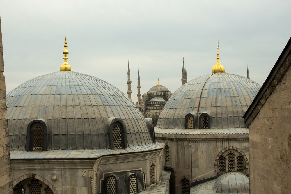 Hagia Sophia and the Sultan Ahmed Mosque