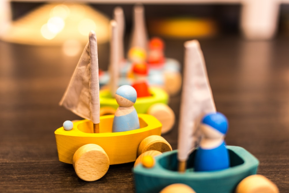 toy lot on table