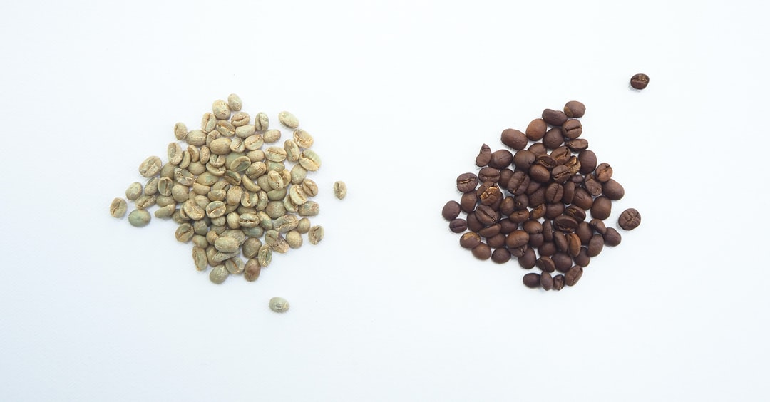 green coffee vs roasted coffee
