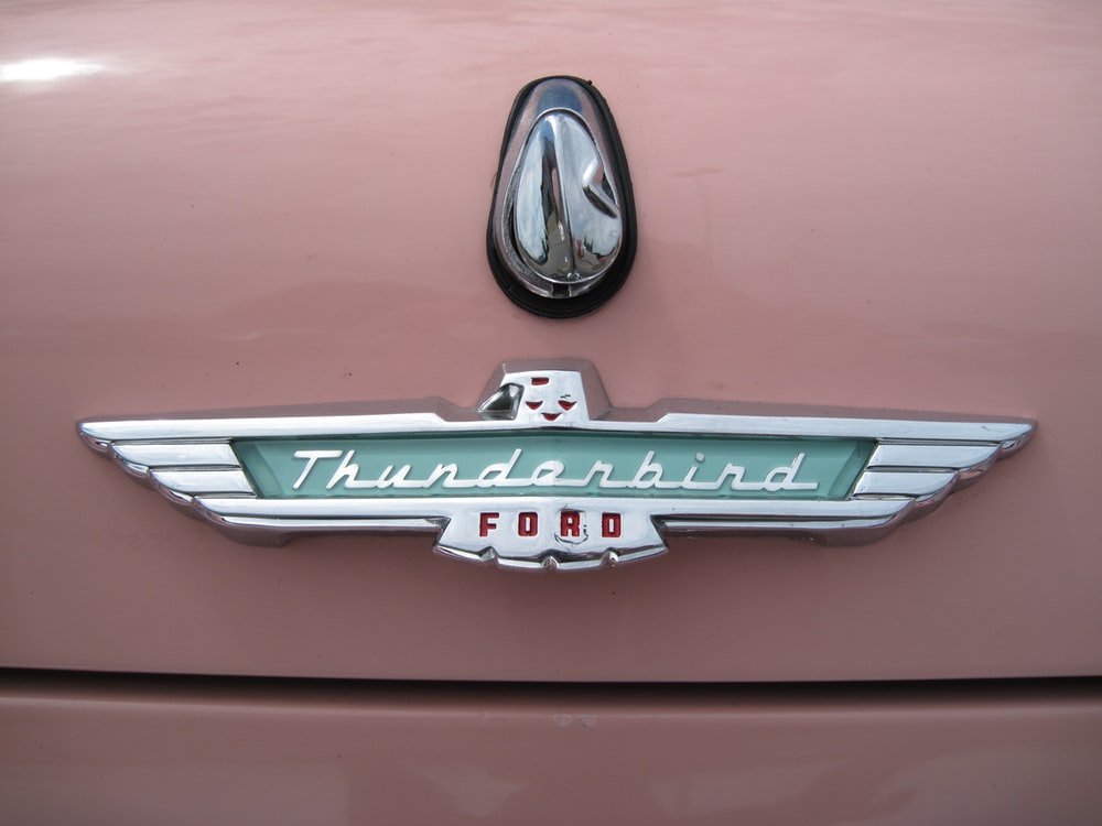 Thunderbird Ford emblem
