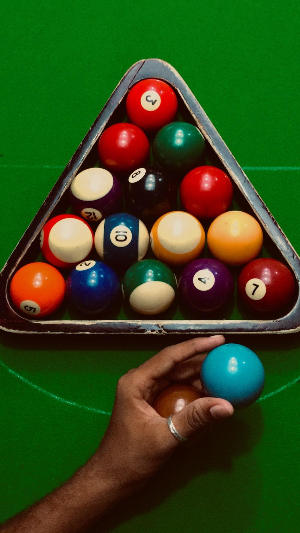 8 pool ball set