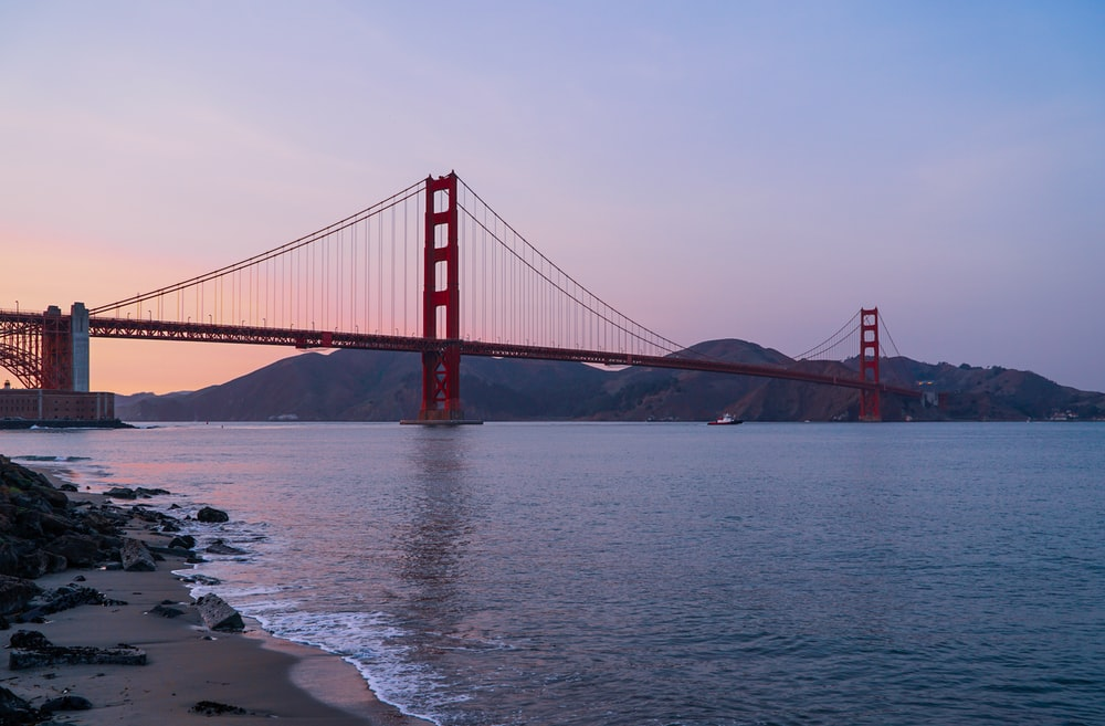 Golden Gate Bridge in Francisco, USA