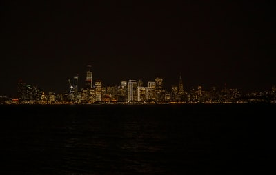 panoramic photography of skyscraper golden state warriors zoom background