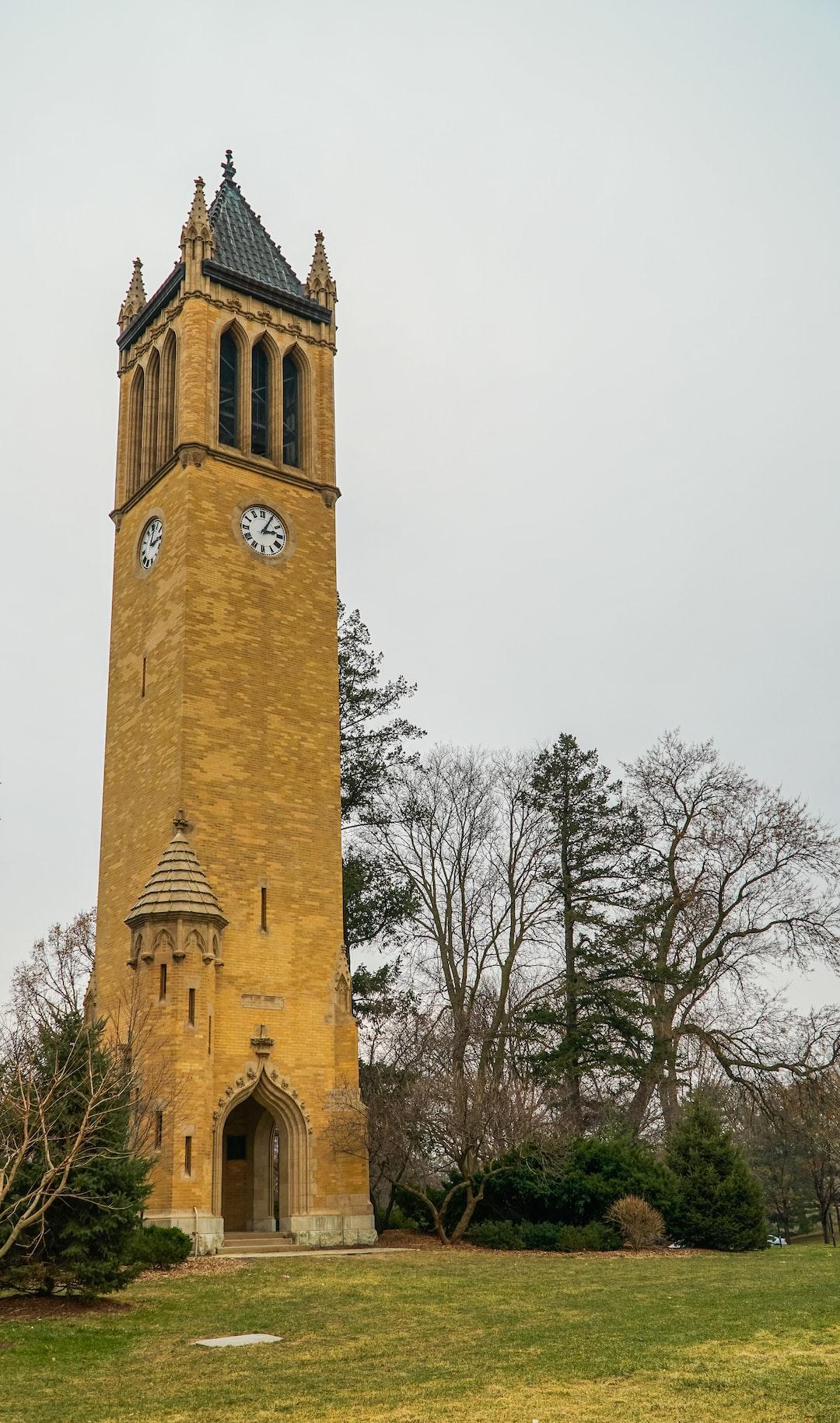 Campanile Clock Tower at ISU
