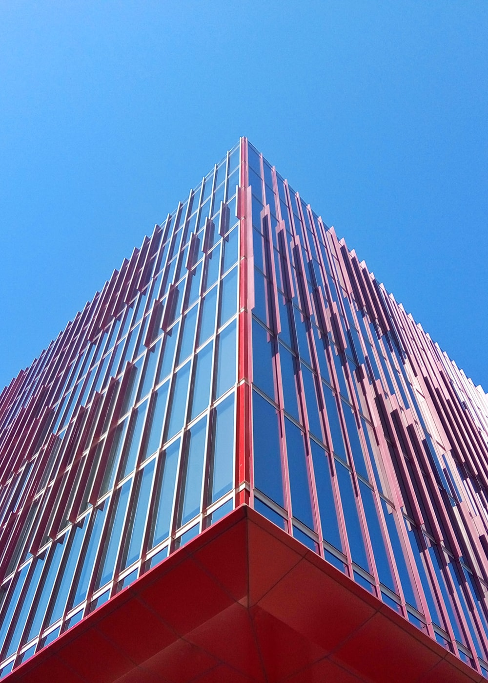 mirror building during daytime