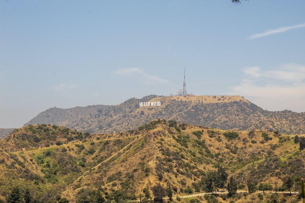 Hollywood mountain photo