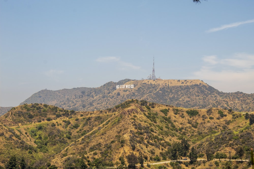 Hollywood mountain photo