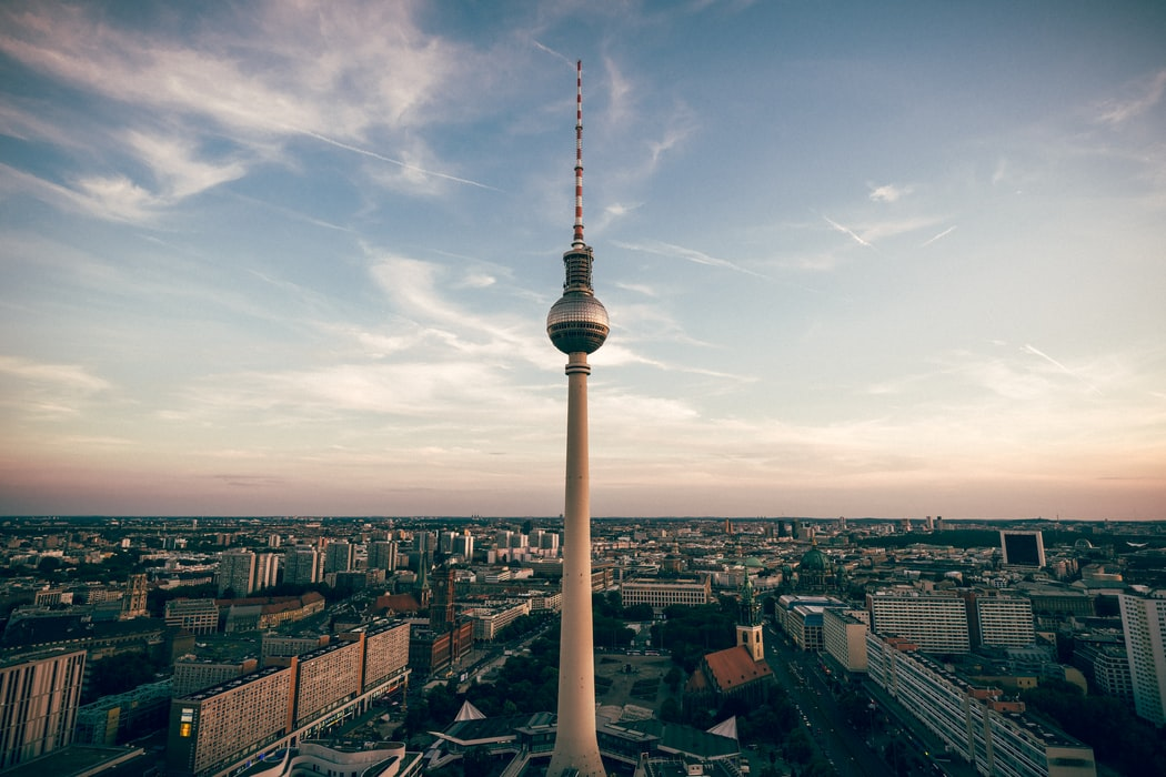 TV tower overlooking Alexanderplatz