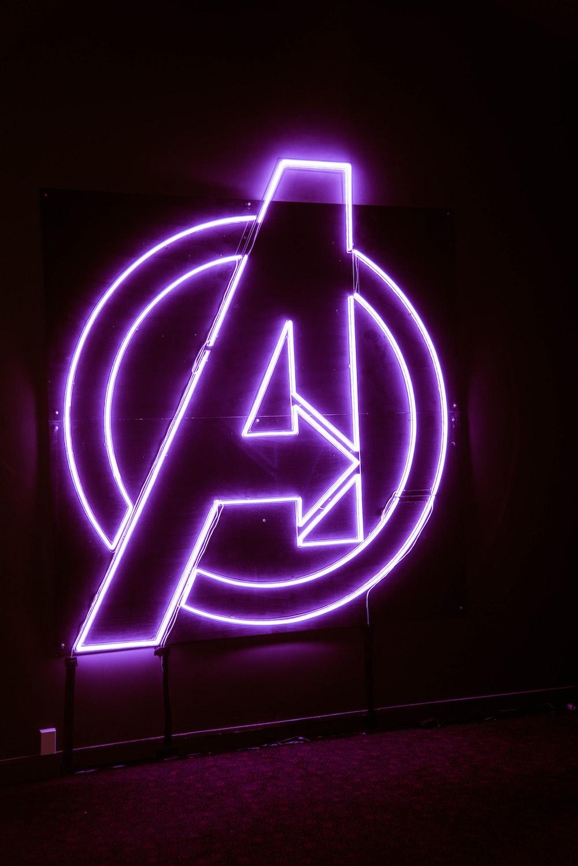 Avengers neon signage
