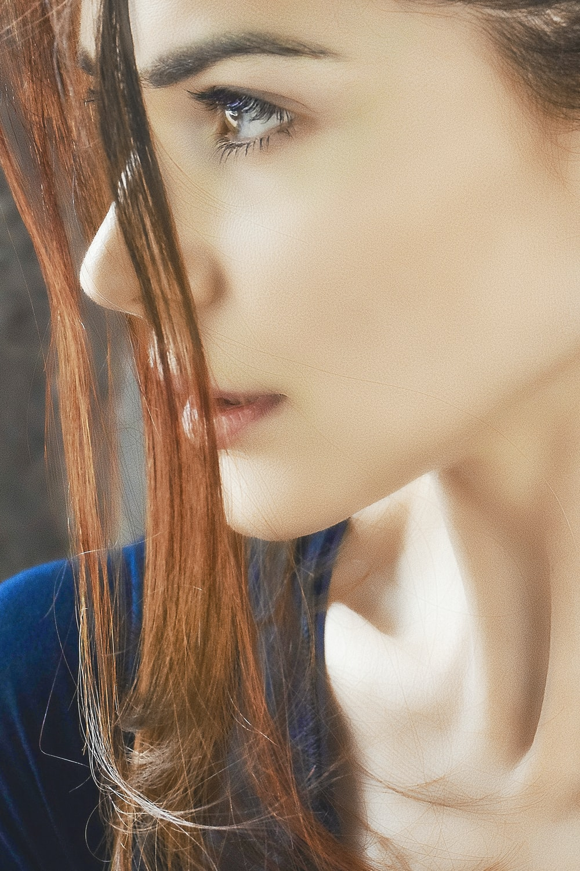 unknown person facing sideways
